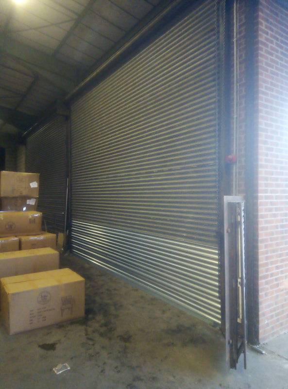 Emergency Industrial Roller Shutter Repair in Nottingham