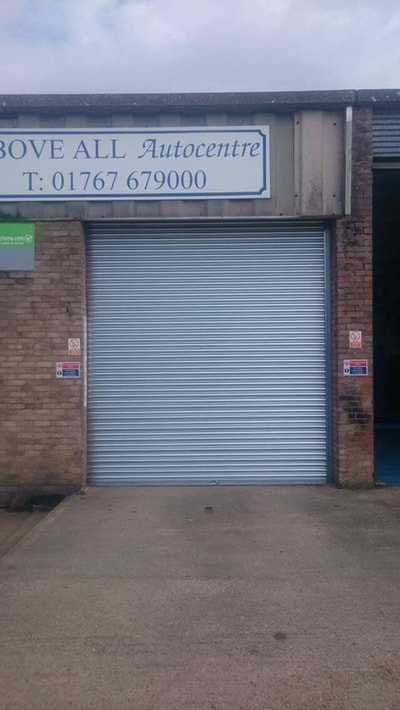 commercial roller shutter Scarborough
