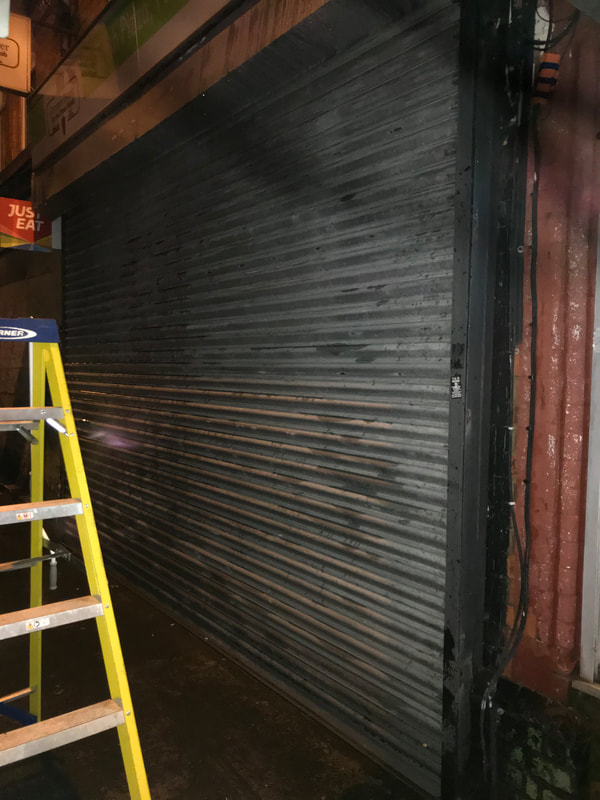 Roller Shutter Door Repairs in Derby