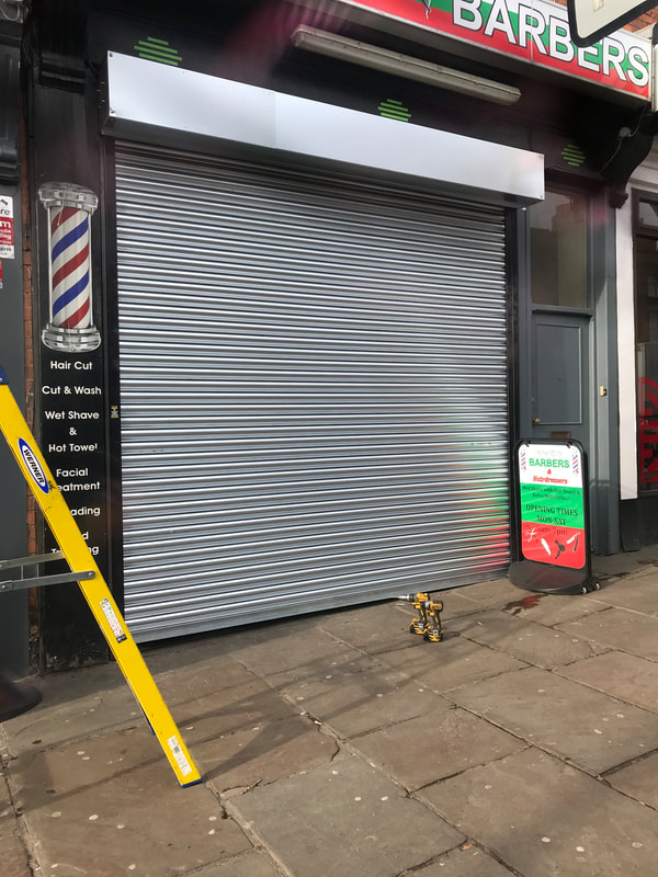 Roller Shutter Door Repairs in Nottingham