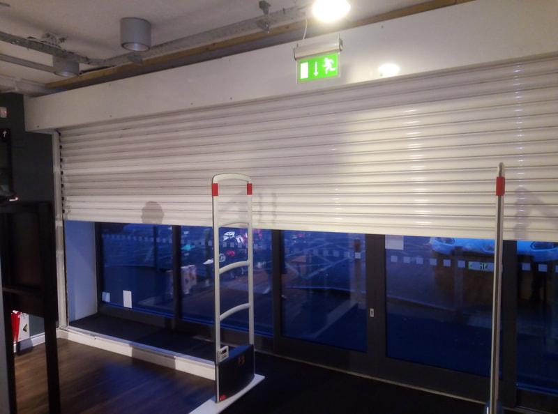 Emergency roller shutter repair Nottingham Specialized